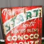 Conoco-bronze-sign